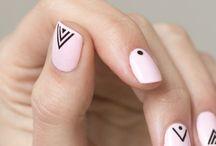 Маникюр / Essie,рисунки на ногтях,милый маникюр, минимализм
