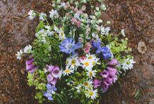 Эко - букеты, луговые цветы / Экологический стиль, букеты, растения, цветы.