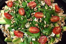 Рецепты / Рецепты вкусных салатов, выпечки и горячих быстрых блюд
