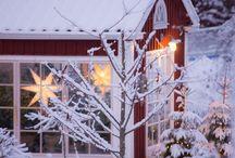 Прекрасные скандинавские дома / Идеальные цветовые решения в скандинавских домах, прекрасные пейзажи.