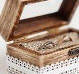 Wedding Ring Boxes by mimiweddingbox / Wedding ring box, ring bearer box, engagement box.