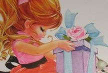 Art Adore Vintagey Sweet / by poetgranny--Judy
