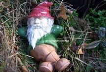 Gnomes / Fer the little fellers.