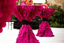 Pink and Navy Blue Weddings / Events