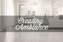 Creating Ambiance by par Preverco / Here are some of our products in Home Decor scenes. We hope this inspires you!  Voici quelques images ambiance de nos produits . Nous souhaitons vous inspirer et faciliter vos recherches!