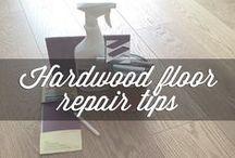 Hardwood repair tips / Learn a few tricks on how to repair your hardwood floors.