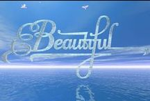 "BEAUTIFUL: The Word / The word ""Beautiful"""