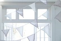Banners | Bunting | Garlands | Mobiles / Fun stuff to hang, drape, or swag / by DancesWithFl✿wers
