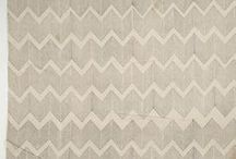Chevron | Bargello | Ikat | Herringbone / Graphic patterns that derive from folk tradition. / by DancesWithFl✿wers