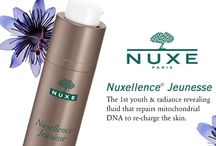 """Nuxellence® / It's the perfect example of what NUXE can do in terms of innovation:  a major anti-aging breakthrough. Backed by the brand's botanical expertise, NUXE identified 3 flower extracts and demonstrated their efficacy in repairing mitochondrial DNA. Nuxellence Jeunesse is the 1st Youth and Radiance Revealing Fluid featuring 10 patents."""" Aliza Jabes, NUXE Founder"""