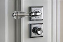 Decorative Door Handles / Decorative door, window and furniture hardwares. Ironmongery with unique details made in 100% brass and Swarovski crystal.
