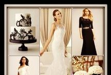 Wedding Collages, Inspiration and Color Boards / Bridal gown paired with a great bridesmaids dress(s) / by Brandis Bridal GalleriaEtc