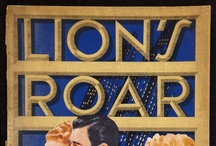 "Lion's Roar covers / MGM trade magazine ""The Lion's Roar"": covers from the 1940's"
