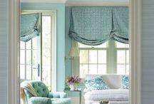 Window treatments / by Theresa Marszal