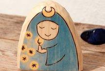 Waldorf toys by Rjabinnik & Rounien / Author natural handmade toys: wooden toys by Rjabinnik felt creations by Rounien www.etsy.com/rjabinnik
