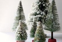 Christmas: Bottle Brush Trees / by DancesWithFl✿wers