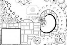 Art: Garden Diagrams / Done right, they're works of art. / by DancesWithFl✿wers