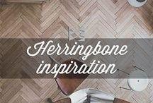 HERRINGBONE FLOORS INSPIRATION / Herringbone, un classique est de retour! Et chez Preverco, nous aimons le Herringbone.   Herringbone, a classic is back in trend! At Preverco, we love it.