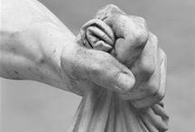 Artistic Maneuverings Sculpture / When you look at it, sculpture is incredible, particularly working in marble or other similar medium. How they make stone look like flesh is amazing and seems almost magical.