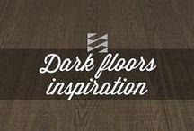 DARK FLOORS INSPIRATION / At Preverco, creating ambiance is not only a slogan but also a mission. Find here our inspirations for our trendy hardwood floors.   Chez Preverco, créateur d'ambiance, nous aimons être à l'affut des tendances. Retrouvez ici nos inspirations pour nos plancher de bois franc.