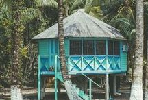 Dreamy Beach Living / Beach huts, houses, and other snippets of beach living