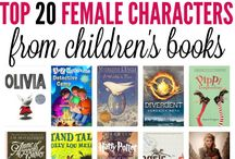 Strong Female Book Characters / This board celebrates strong female characters in books. We want to share all genres of books where women are the protagonists and doing more than just being a princess. These books, articles, and resources will share stories of women leaders, dreamers, icons, mothers, survivors, resisters, and rock stars.