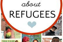 Refugee Picturebooks / Books, articles, and resources to discuss refugees. Teach empathy, tolerance, and kindness towards refugees and learn from their life stories.