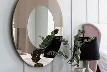Mood Mirrors / We firmly believe that the mirror in your home is not just an accessory but also a style statement that can be used to introduce intrigue to your walls. Our mirror collection contains modern handcrafted mirrors made in Somerset designed exclusively by us for you.