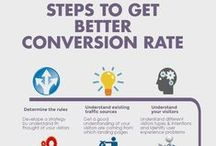 Conversion Rate Optimization / The conversion rate of your site or page has many variables such as the quality of ad traffic coming to your site, the device they view the site on etc. That said a 1%-2% overall site conversion rate is normal. That is conversions/total visitors. A specific page like a trial page or landing page has its own conversion rate usually staring around 2% and can be as high as 50%. Most good landing pages are in the 5% to 15%.
