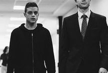 Mr. Robot / Hello, friend. Hello, friend? That's lame. Maybe I should give you a name. But that's a slippery slope. You're only in my head.