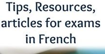 EFrenchTuitionOnline.com / IGCSE French Crucial Tips - French Courses- French exams. This board provides resources, articles, tips and information to learners of the French language and helps students get the best possible grades in their next exam in French.