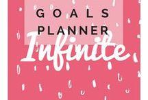 Goals | Obiettivi / Obiettivi nella vita e come raggiungerli! |||| produttività, organizzazione, organizzazione casa, goal setting, zero spese challenge, lista di cose da fare, agenda, bullet journal italiano, goal, una vita ordinata, organizzare la vita,