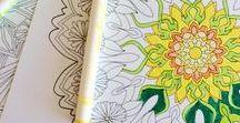 Pagine da colorare / Libri da colorare per adulti! Rilassarsi facendo le cose che amavamo da bambini! adult coloring books, libri da colorare, pagine da colorare, disegni da colorare, coloring pages, color pages, destress coloring pages, quote coloring pages