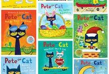 Pete the Cat / Pete the cat classroom decor, themes, ideas, lessons, learning centers, games, worksheets