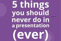 Buffalo 7 Presentation Tips / Tips about presentation, design and powerpoint