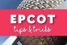 Epcot / Tips, tricks and everything you need to know when you spend the day at #Epcot on your Walt Disney World Vacation. The Experimental Prototype Community of Tomorrow is a great place to explore the future, the countries of the world.