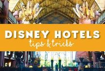 Hotels at Disney World / Tips and insight on what to expect when you stay at a Disney World hotel or a hotel in the surrounding Walt Disney World Resort area. Whether you want to stay in a vacation rental or if you should stay #DVC at Disney World. #disneyresorts #disneyhotels