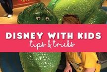 Disney World with Kids / Tips and tricks for traveling to Disney World with kids. Disney World is the perfect place to bring your children no need to worry about it being a good fit. Fantastic information on what to bring, where to take naps, where to eat with kids at Disney World and so much more! #disneykids #disneytoddlers #disneybaby