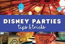 Party!! Like your at Disney!! / Plan the perfect #DisneyParty. Disney party favor ideas, Disney themed food and anything else you may need for your party planning. Great for Disney birthday parties, Disney sleepovers, Mickey party, Disney Princess party.