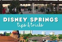 Disney Springs / Tips and tricks for planning your day at #DisneySpring in Walt Disney World. Disney Springs is home to fantastic dining and world class shopping.