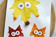 Autumn Ideas / Fun and easy ideas inspired by the fall season.