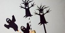 Halloween Kids Party - ByAlex Playmats / Party preps for busy moms and creative kids