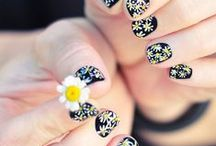 Finger Nail Art / Inspiration for manicures I'll DIY / by Becca F