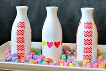 Valentine's Day Ideas and Inspriation / Full of #ideas and #inspiration for #Valentine's #crafts, #decorating, and more.