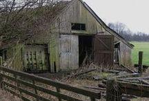 old barns, farms, ranch