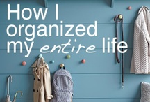 Let's Get Organized! / This year is all about decluttering, organizing, out with old (or finding a new use for something old) and NOT replacing it with something new! #declutterproject2015