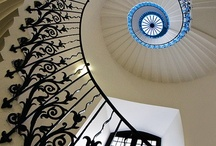 Architectural Detail / Walls and Staircases I love / by Angela George