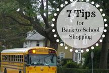 Back to School  / Tons of ideas and #tips and to get your #kids ready for back to #school.