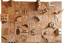 Cardboard Rocks / Use cardboard for creating, inventing.