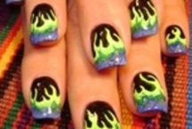 Robin Moses Nail Art  / by Brittney Ramey